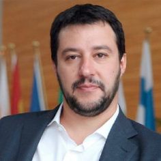 Matteo Salvini. Photo: matteoslavini.it